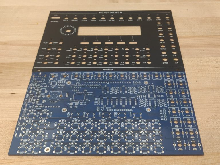 Westlicht PER|FORMER PCB and Faceplate