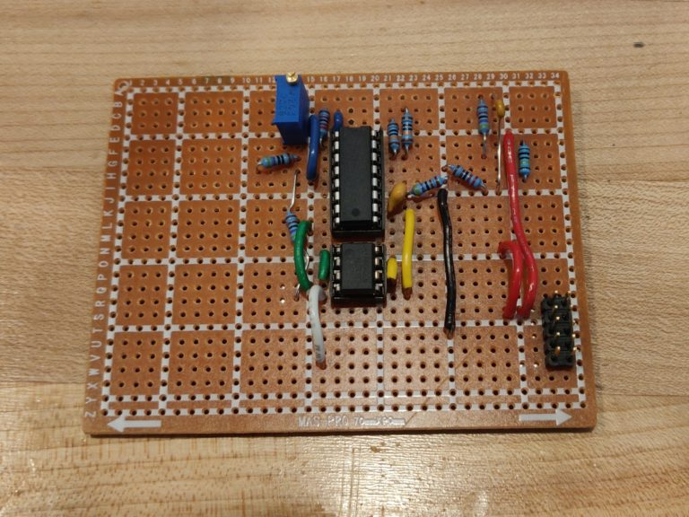 LMNC Stripboard CEM3340 Layout