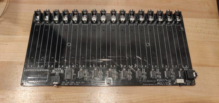 16n Faderbank PCB