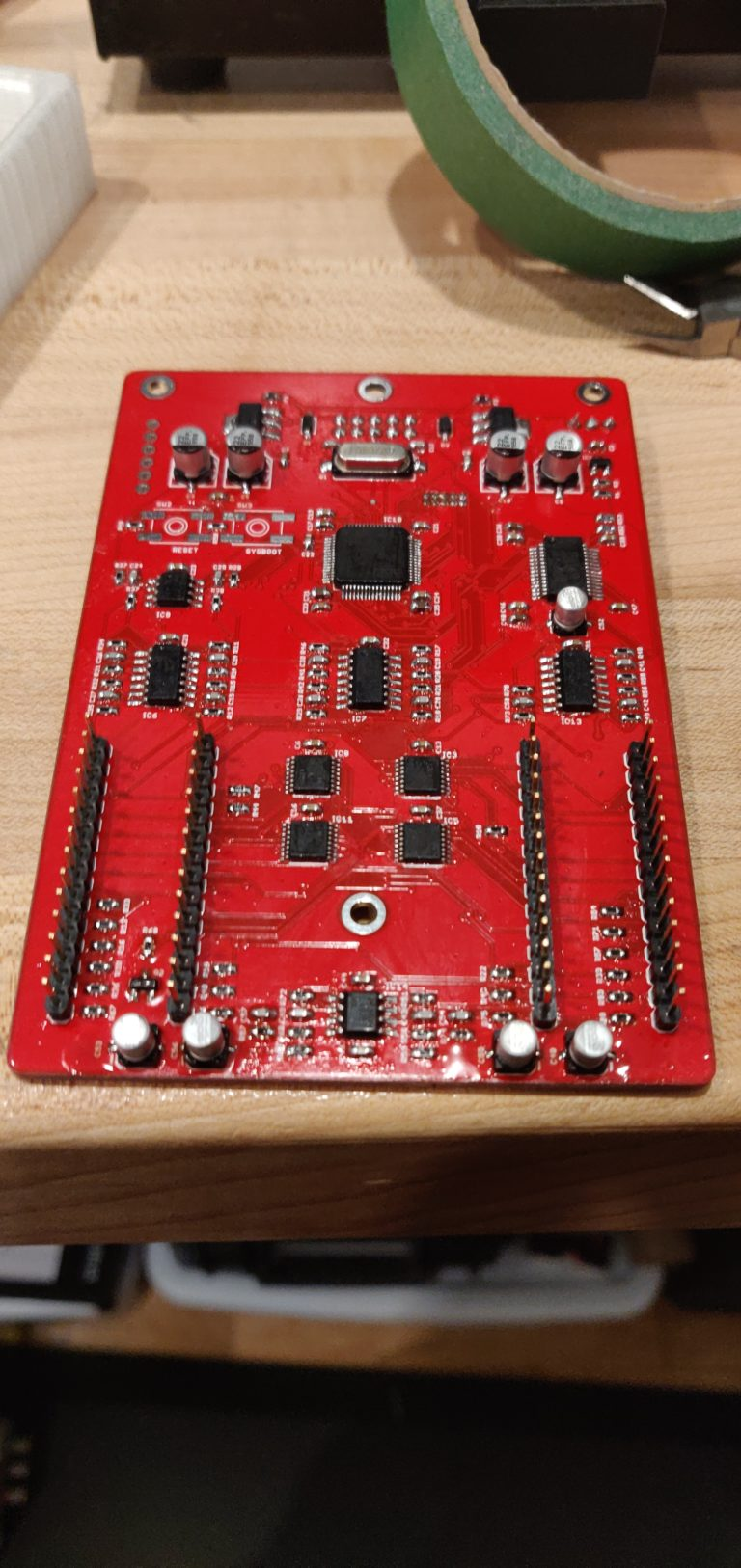 Main PCB complete