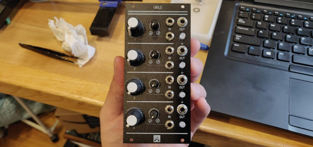 Build Diary #7: Mutable Instruments Veils