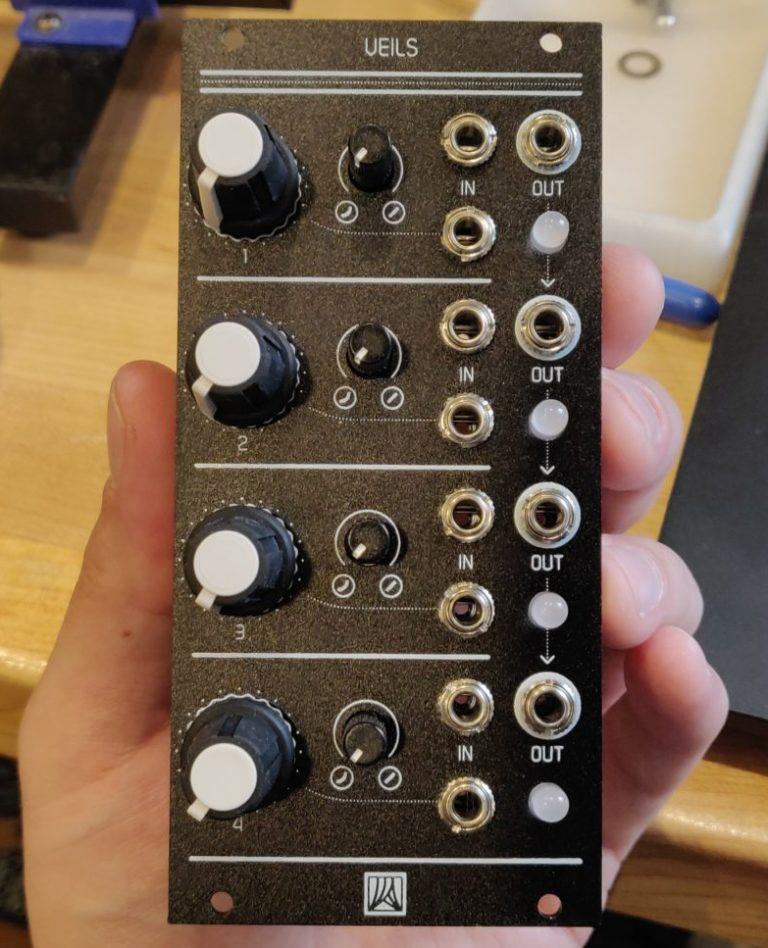 Rogan Knobs Mutable Instruments Veils