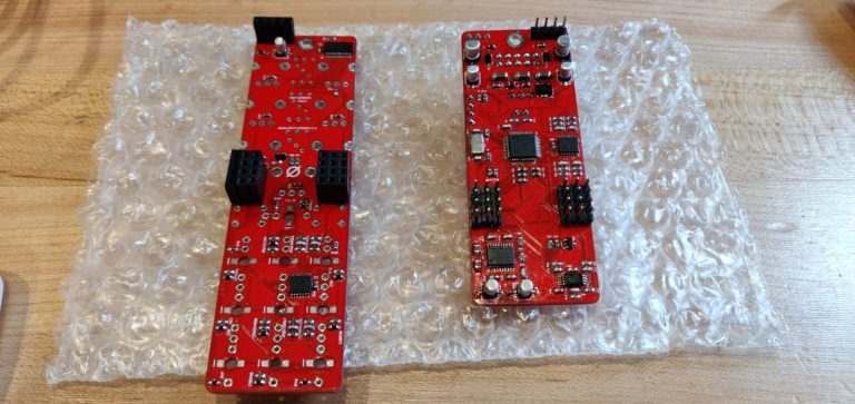Antumbra KNIT PCBs populated