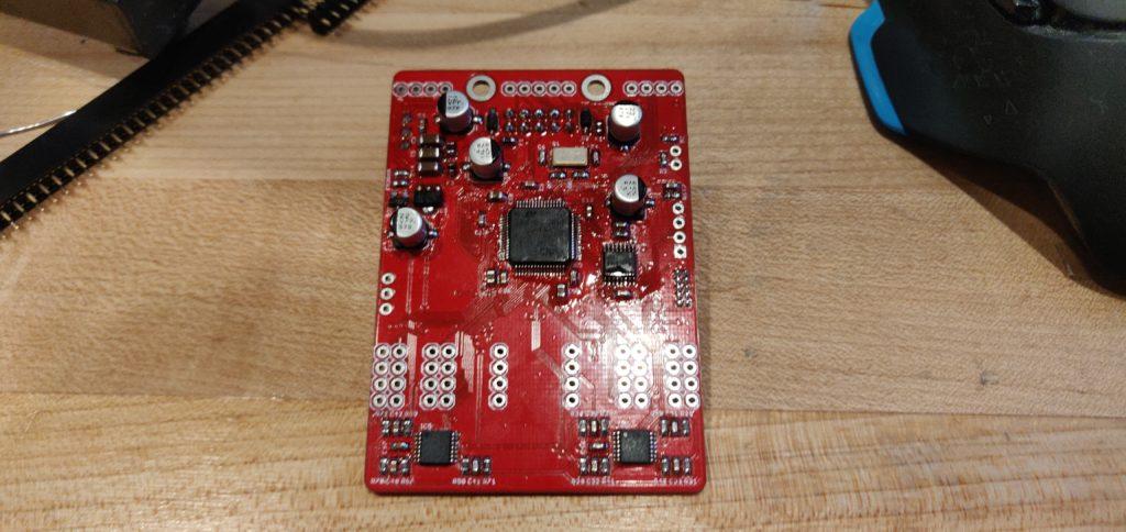 Antumbra CARA Main PCB Populated