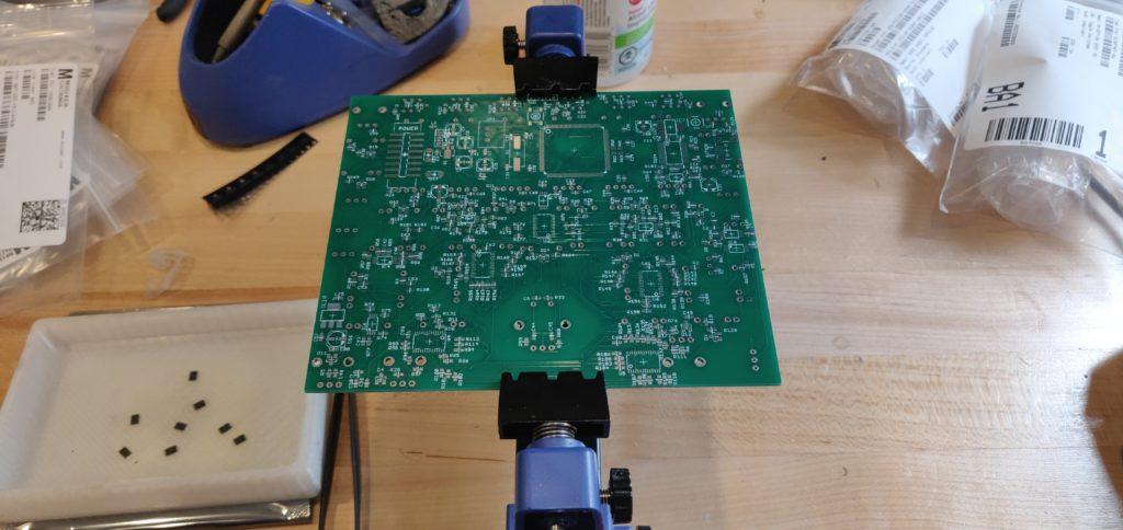 Bare 4MS SMR DIY PCB