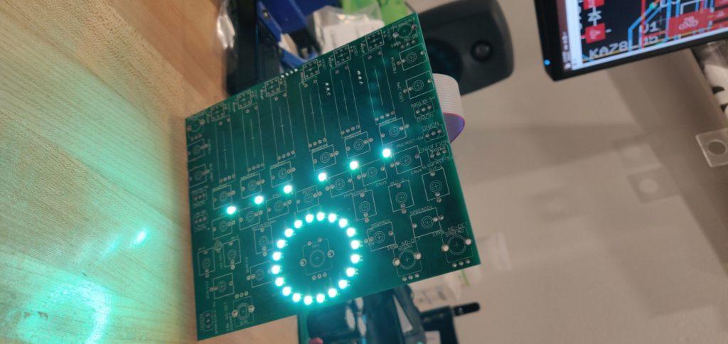 4MS SMR DIY Power on test success