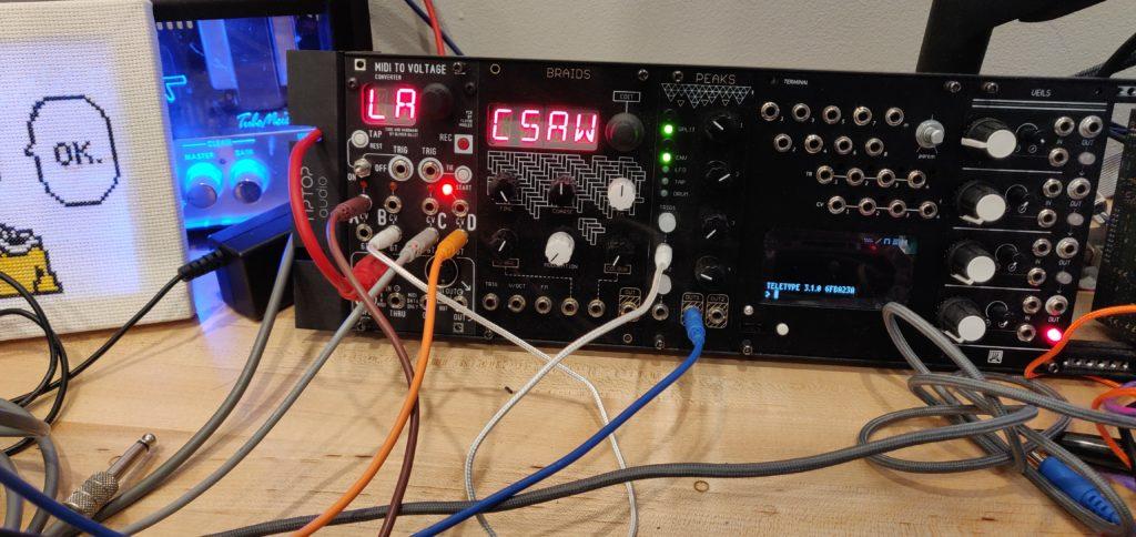 Yarns MIDI to CV