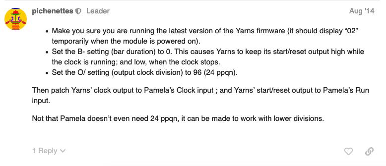 Yarns Tips